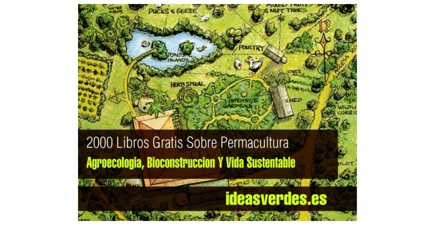 2000 LIBROS GRATIS PERMACULTURA